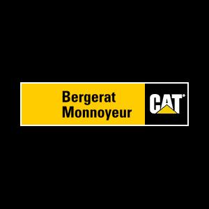 Kołowe koparki do prac przeładunkowych Caterpillar - Bergerat Monnoyeur